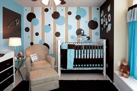 dekorasi kamar bayi laki-laki