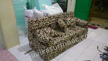 Motif Sofa Bed Inoac