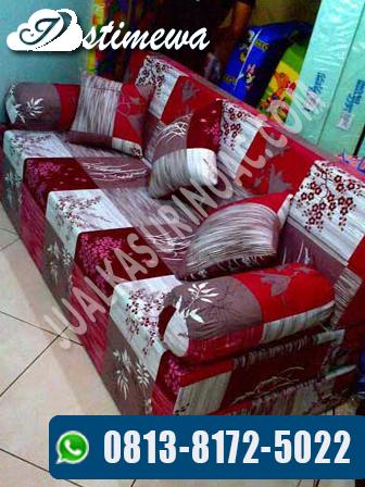sofa bed padi merah