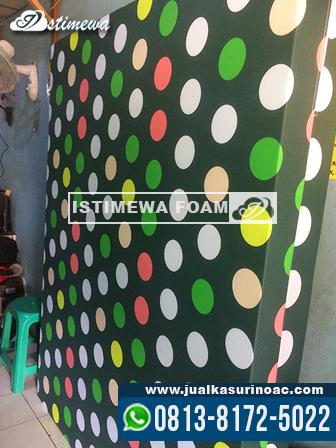 inoac motif polkadot hijau