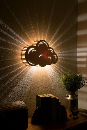 lampu hias kamar tidur tempel dinding