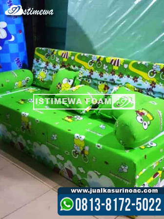 sofa bed inoac asli