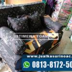 Sofa Bed Inoac Motif Gelap