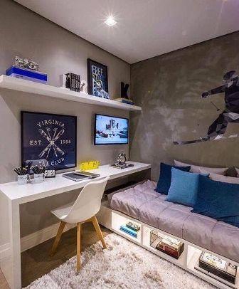 dekorasi kamar tidur anak laki-laki
