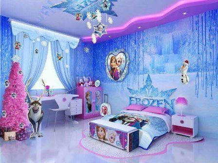 Design Kamar Anak Motif Frozen Yang Istimewa